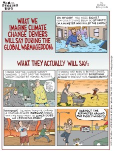 Tom the Dancing Bug 1190 climate change deniers